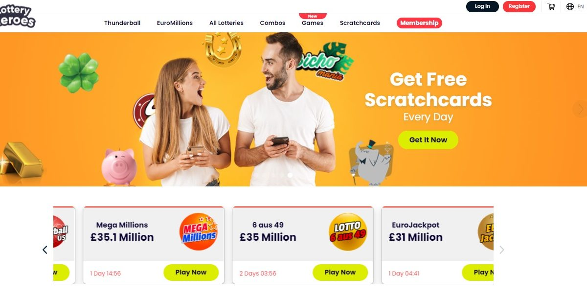Lottery Heroes Review- Enjoy Lots of Lottery Opportunities